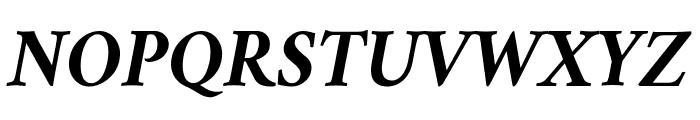 Amiri Bold Italic Font UPPERCASE