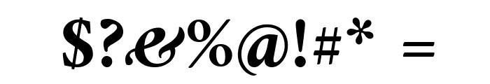 Amiri Bold Slanted Font OTHER CHARS