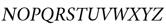 Amiri Italic Font UPPERCASE