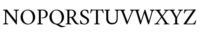 Amiri Regular Font UPPERCASE