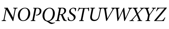 Amiri Slanted Font UPPERCASE