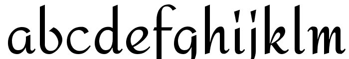 Amita Font LOWERCASE