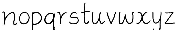 Ammys Handwriting Font LOWERCASE