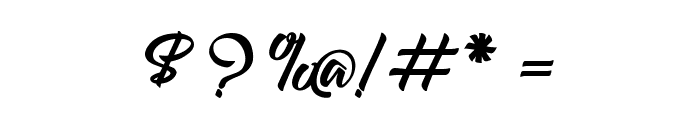 Amontilladios Font OTHER CHARS