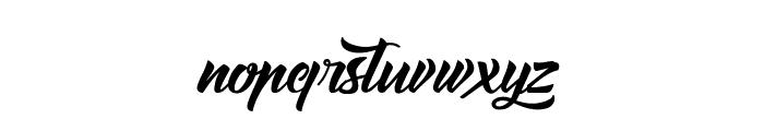 Amontilladios Font LOWERCASE