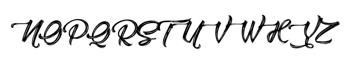 Amontillado Font UPPERCASE