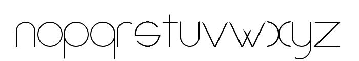 Amorino Beta Font LOWERCASE