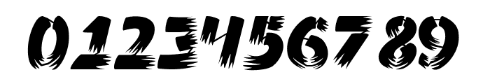 Ampad Brush Regular Font OTHER CHARS