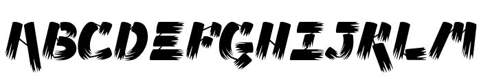 Ampad Brush Regular Font UPPERCASE