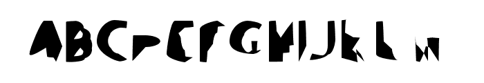 Ampere SmallCaps SuperCondensed Font UPPERCASE