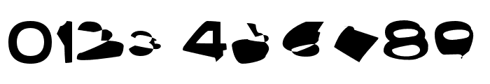 Ampere SmallCaps SuperExtended Font OTHER CHARS