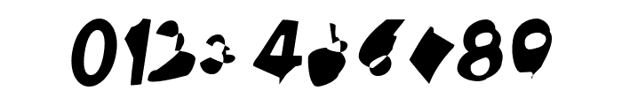 Ampere SuperCondensed Italic Font OTHER CHARS
