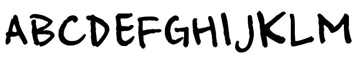 Ampersand Font UPPERCASE