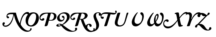 Amperzand Font UPPERCASE