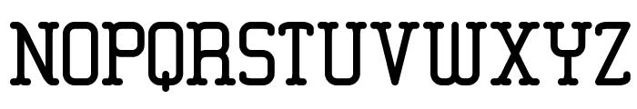 Amplitude BRK Font UPPERCASE