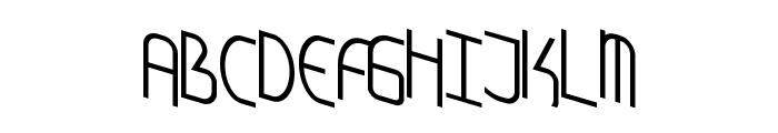 AmplitudeSkewed Font UPPERCASE