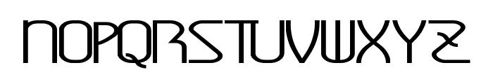 AmplitudeStretched Font UPPERCASE