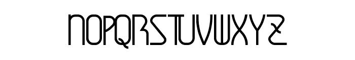Amplitudes Font UPPERCASE