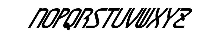 AmplitudesBoldItalic Font UPPERCASE