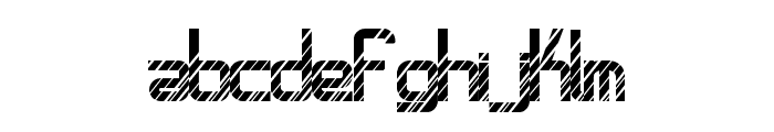 AmplitudesDisco Font LOWERCASE
