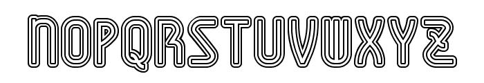 AmplitudesDoubleStroke Font UPPERCASE