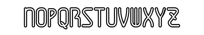 AmplitudesHollowDigital Font UPPERCASE