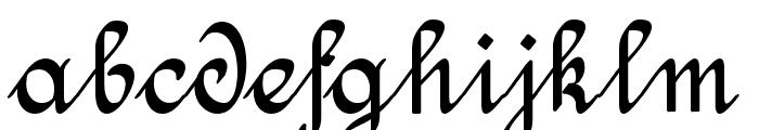 Amptmann Script Font LOWERCASE