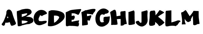 Ampun Bang Font UPPERCASE