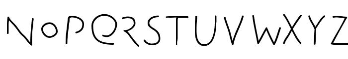 Amputation Font UPPERCASE