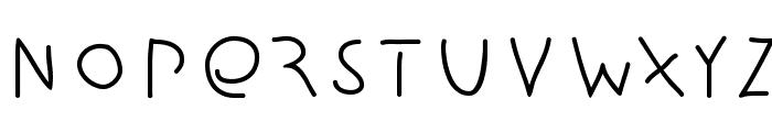 Amputation Font LOWERCASE