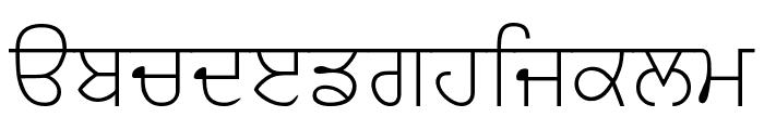 AmrLipiSlim Font LOWERCASE