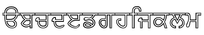 AmrNeon Font LOWERCASE