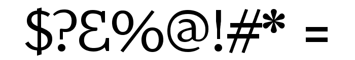 AmstelvarAlpha Default Font OTHER CHARS