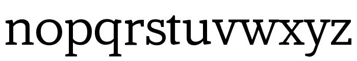 AmstelvarAlpha Default Font LOWERCASE