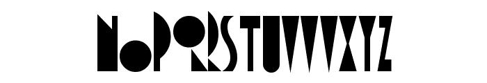 AmsterdamTangram Font LOWERCASE