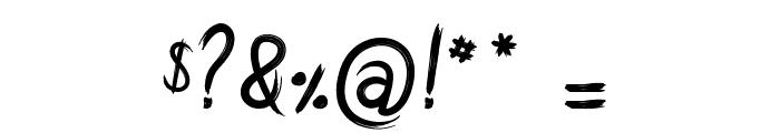 Amtrash Font OTHER CHARS
