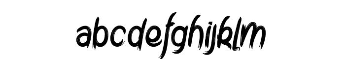 Amtrash Font LOWERCASE