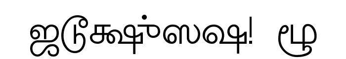 Amudham Font OTHER CHARS