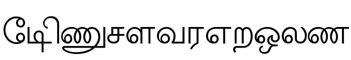 Amudham Font LOWERCASE