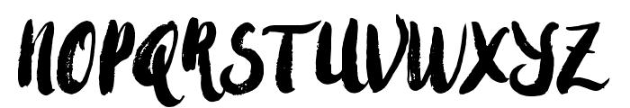 AmulhedDemo Font UPPERCASE