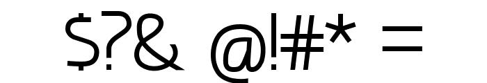 amatraca grotesqueRegular Font OTHER CHARS