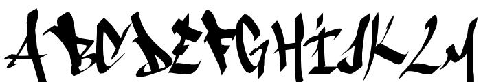 ameze'sfont Font UPPERCASE