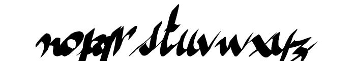 ameze'sfont Font LOWERCASE