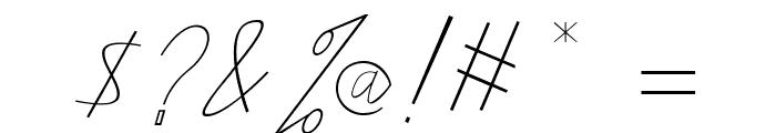 amplas Light Font OTHER CHARS
