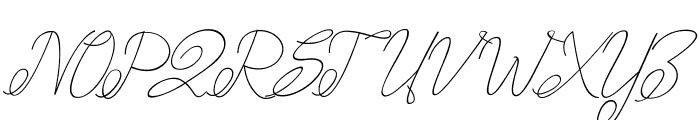 amplas Light Font UPPERCASE
