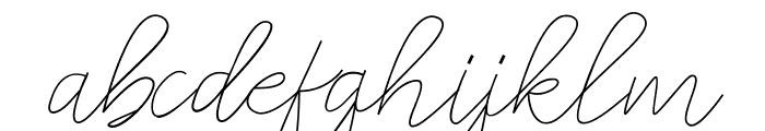 amplas Light Font LOWERCASE