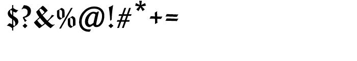 Amador Regular Font OTHER CHARS