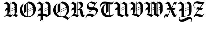 Amador Regular Font UPPERCASE