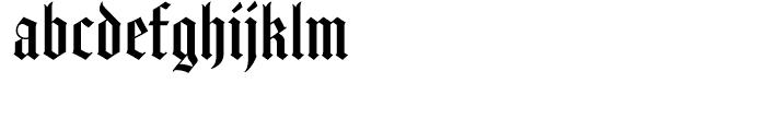 Amador Regular Font LOWERCASE