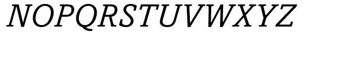 Amasis Italic Font UPPERCASE